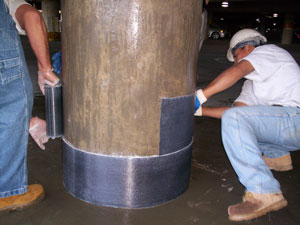 Parking Garage Column Repair