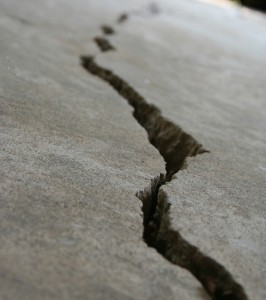 Commercial Concrete Slab Crack Repair