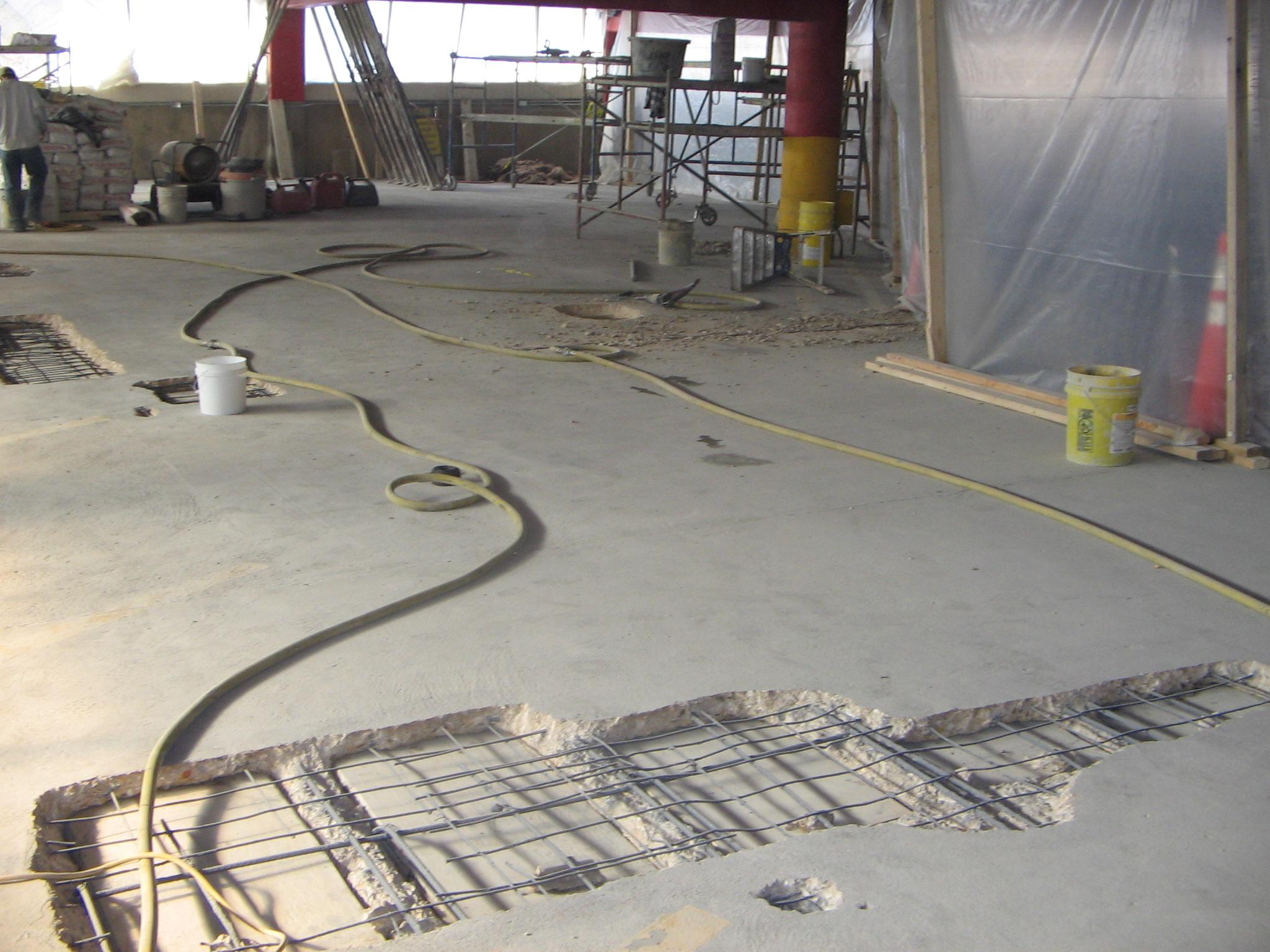 Waterproofing Gallery Concreterestoration Com